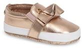 MICHAEL Michael Kors Infant Girl's Baby Poppy Slip-On Crib Shoe