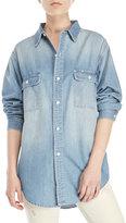 Earnest Sewn Adee Jean Boyfriend Shirt