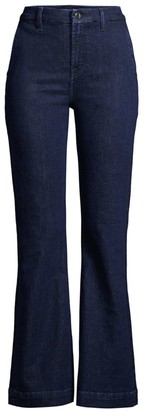 JEN7 by 7 For All Mankind Tailorless Denim Trousers