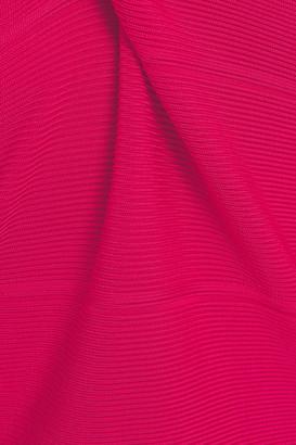 Herve Leger Cutout Bandage Mini Dress