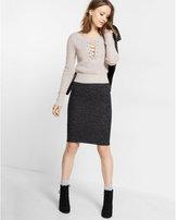 Express cozy pencil skirt