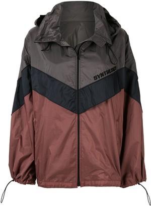 Juun.J Colour Block Oversize Jacket