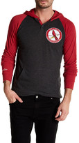 Mitchell & Ness MLB Cardinal Hooded Raglan Tee