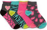 Stride Rite Fierce Frances Socks 4-Pack
