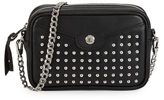 Longchamp Rock Convertible Leather Crossbody Bag