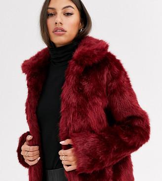 Glamorous Tall faux fur jacket