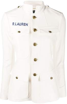 Polo Ralph Lauren fitted stand up collar jacket