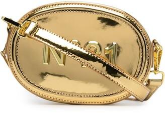 No21 Kids Metallic Embossed Logo Belt Bag