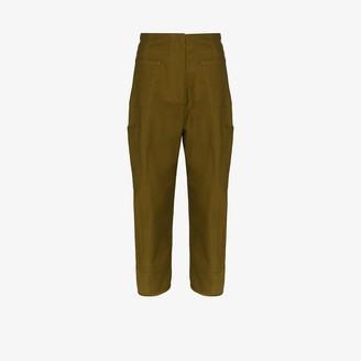 LVIR High Waist Wide Leg Cargo Trousers