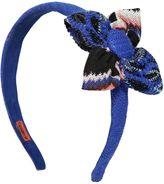 Missoni Flower Viscose Blend Knit Headband