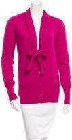 Saint Laurent Knit Wool Cardigan w/ Tags
