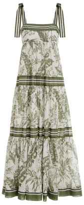 Zimmermann Empire Tie Midi Dress