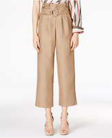 J.o.a. Cropped Wide-Leg Pants