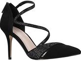 Carvela Lunar Pointed Toe Court Shoes, Black