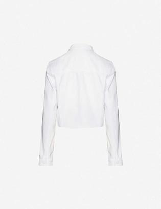 Paige Vivienne stretch-denim jacket