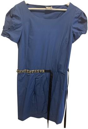 Philosophy di Alberta Ferretti Blue Cotton Dress for Women