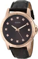 GUESS GUESS? Women's U0519G1 Leather Quartz Watch