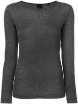 Aspesi round neck jersey top