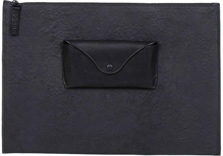 Maison Margiela (メゾン マルジェラ) - Maison Margiela レザー ポケットデザイン ポーチ ブラック
