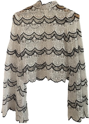 Asilio White Lace Top for Women