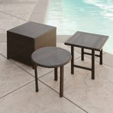 Christopher Knight Home Palmilla Wicker Table (Set of 3) by