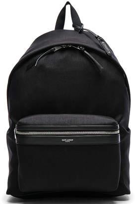 Saint Laurent Backpack in Black | FWRD