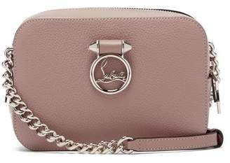Christian Louboutin Rubylou Mini Leather Cross-body Bag - Womens - Light Pink
