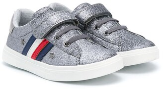 Tommy Hilfiger Junior Glitter Touch-Strap Sneakers