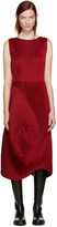 Issey Miyake Red Pleated Dress