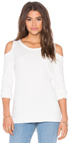 Nation Ltd. Olivia Cold Shoulder Tee
