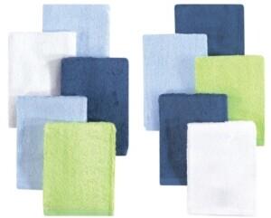 Little Treasure Luxuriously Soft Washcloths, 10-Pack