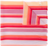 Paul Smith striped print scarf