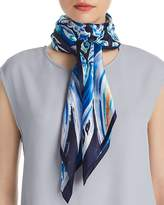 Echo Painterly Paisley Silk Square Scarf - 100% Exclusive