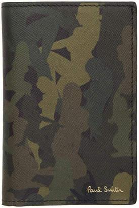 Paul Smith Khaki Naked Lady Camouflage Card Holder