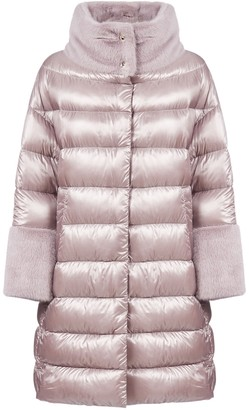 Herno Fur Trim Puffer Coat