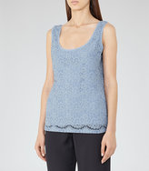 Reiss Joselyn Lace Tank Top