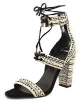 KENDALL + KYLIE Dawn Women Open Toe Leather Multi Color Sandals.