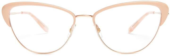 Garrett Leight Vista 53 cat-eye frame glasses