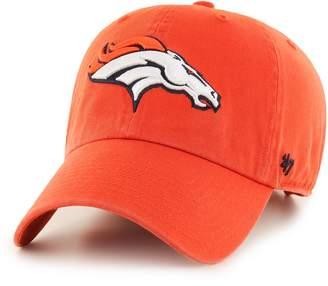 '47 Adult Denver Broncos Clean Up Adjustable Cap