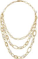 Ippolita 18K Nova 3-Strand Collar Necklace w/ Pearls