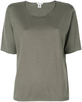 Le Tricot Perugia round neck T-shirt - women - Virgin Wool - L