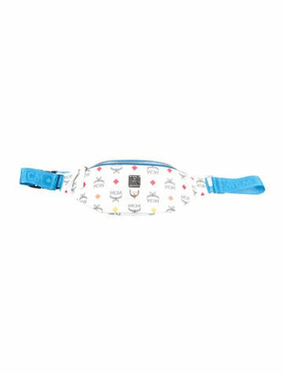 MCM Spectrum Diamond Small Belt Bag w/ Tags White