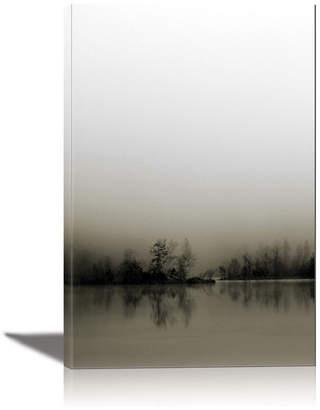 Eurographics Diffusion Framed Canvas Wall Art