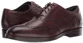 Cole Haan Lewis Grand 2.0 Wing Tip Oxford (Chestnut) Men's Shoes