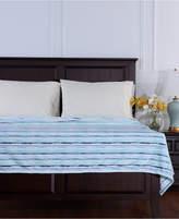 Berkshire VelvetLoft Brushed Stripe Plush Twin Blanket Bedding