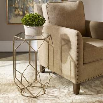 Bronx Uinta Contemporary End Table Ivy