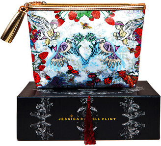 Jessica Russell Flint - Strawberry Garden Cosmetic Bag - Classic
