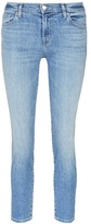J Brand 'Sadey Slim Straight' mid rise cropped jeans