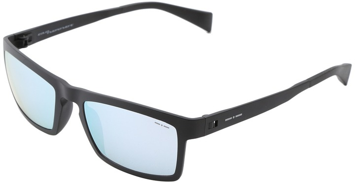 Italia Independent 0114.009.000 (Black) Plastic Frame Fashion Sunglasses