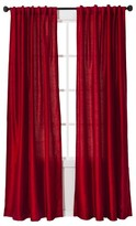 Threshold Faux Silk Curtain Panel
